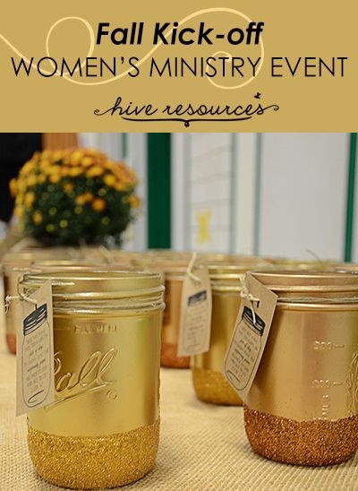 Teaching women to pray for one another. Prayer jars out of Ball jars {Hive Resources}