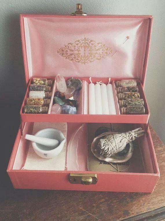 Portable altar, or simply storage!