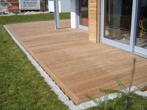 Renovierung Der Holzterrasse. Die Besten 25+ Holzterrasse Ideen