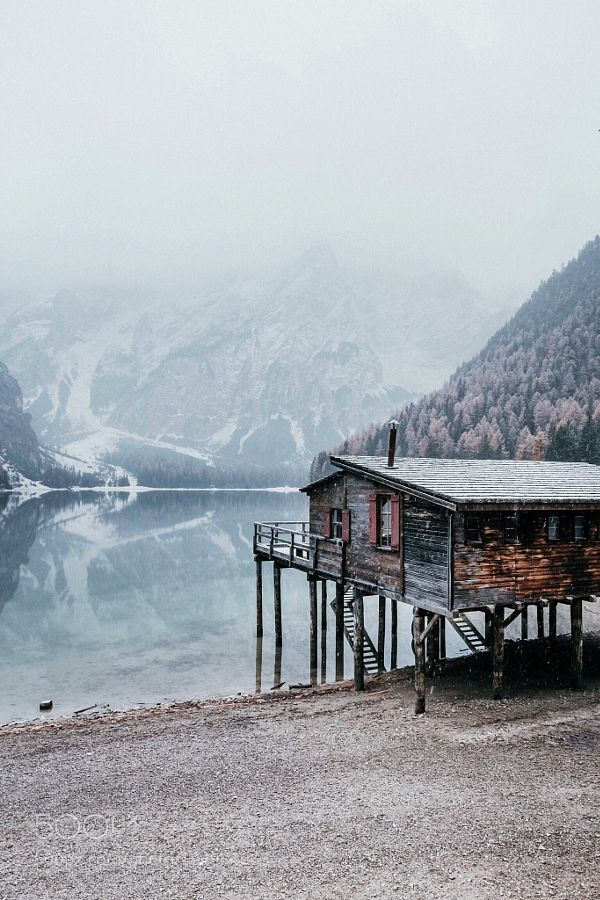 Lago di braies  by Lyes. Please Like http://fb.me/go4photos and Follow @go4fotos Thank You. :-)