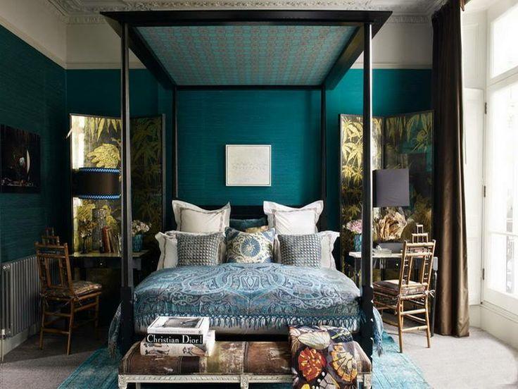Gorgeous Blue Bedroom Design
