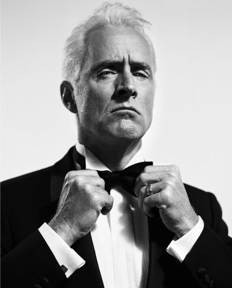 John Slattery by Vincent Peters - for those that watch mad men, this is a sick shot