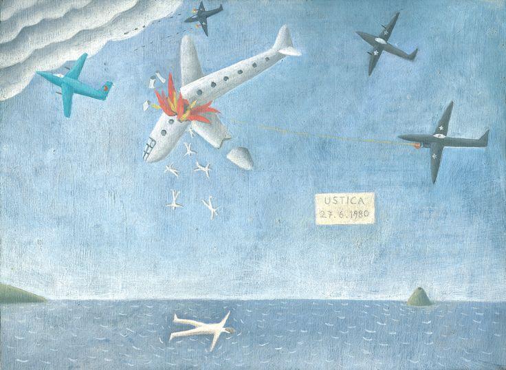 Tav. I - Ustica Il 27 giugno 1980 un aereo civile italiano esplodeva in volo sopra l'isola di Ustica. Morirono ottantuno persone. Si p...