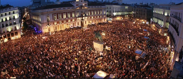 #12mNonosvamos  2012 Sol, Madrid