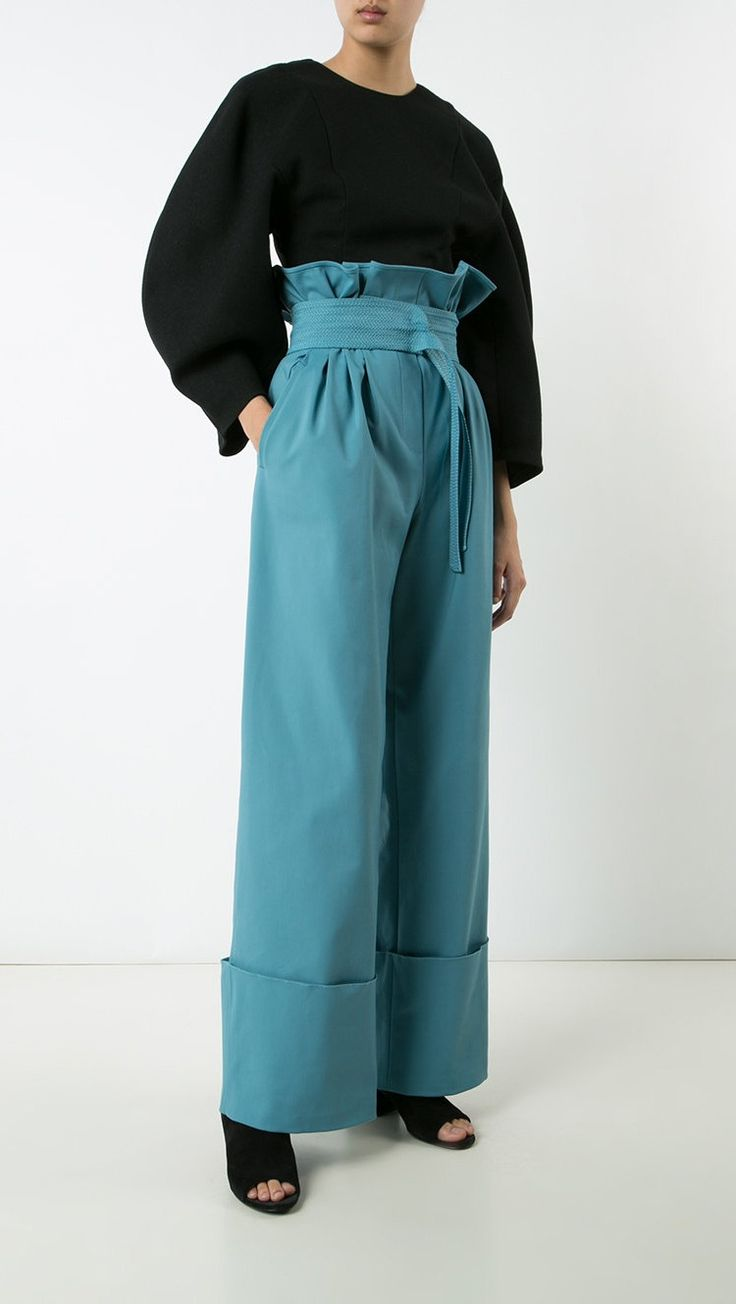 ROSIE ASSOULIN Paperboy lunch palazzo pants, shop now at Farfetch.