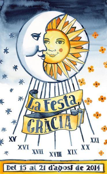 La Festa Gràcia. From 15 to 21 August, in Gràcia.