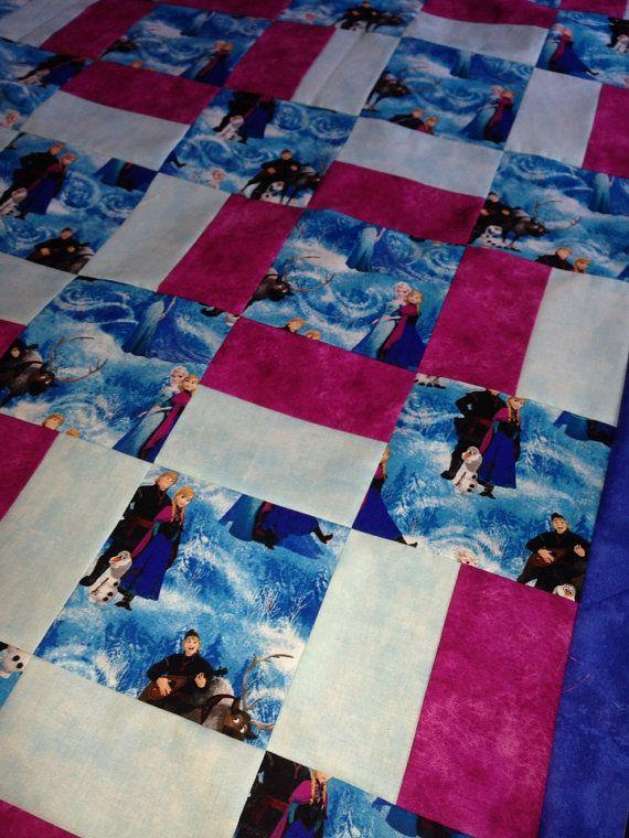 Best 25+ Frozen quilt ideas on Pinterest | Snowflake quilt, Quilt ... : handmade quilts ideas - Adamdwight.com