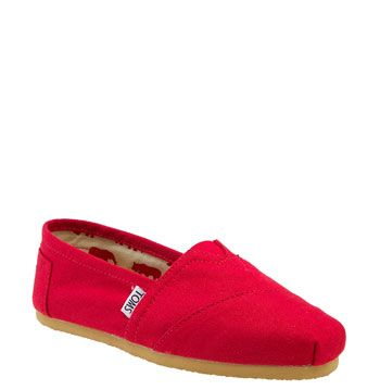 THE most comfortable shoes ever (plus TOMS gives a new pair to a child in need for every pair purchased)  TOMS 'Classic' Canvas Slip-On