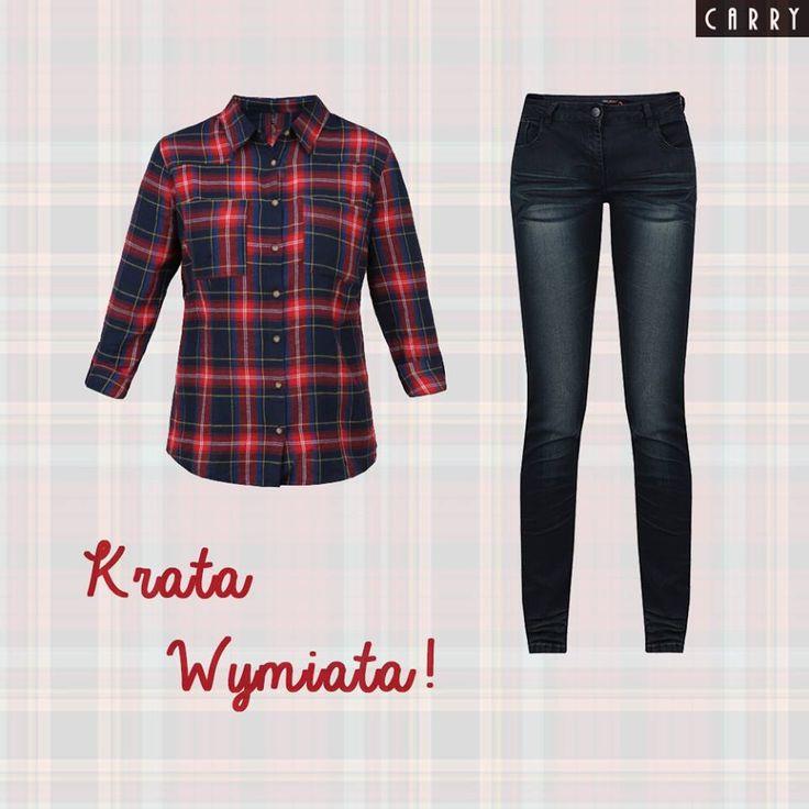 Wielki szał na kraciaste koszule wciąż trwa! Macie swoją ulubioną mieszkankę kolorów, którą widziałybyście na tej ulubionej? #autumn #outfit #fashion