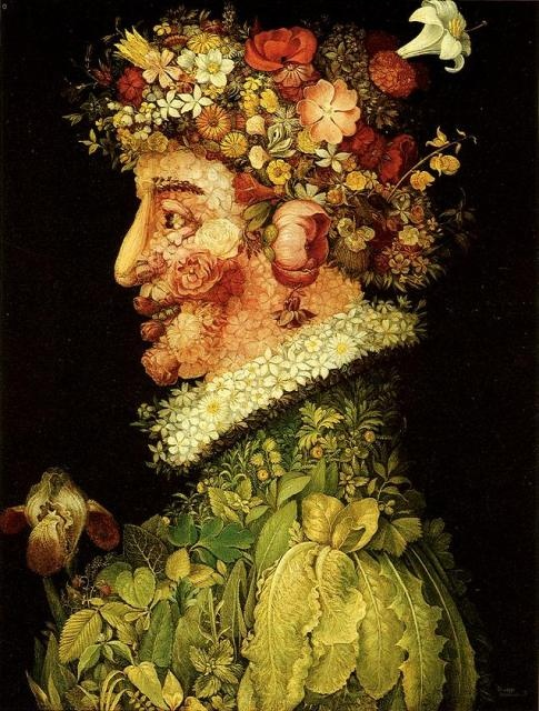 Alegoría de la Primavera: Academy, Real Academia, San Fernando, The Bella, Giuseppe Arcimboldo, Artists Inspiration, Art De, Two Hundred, Bella Species