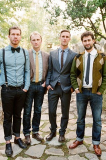 Simply Events: Mismatched Groomsmen, such a neat blog post!