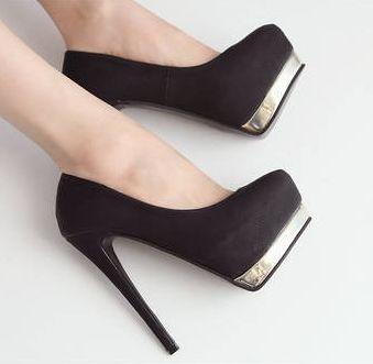 [$14.21]Fashion pumps classical hot sale ladies high heel shoes CZ-4772