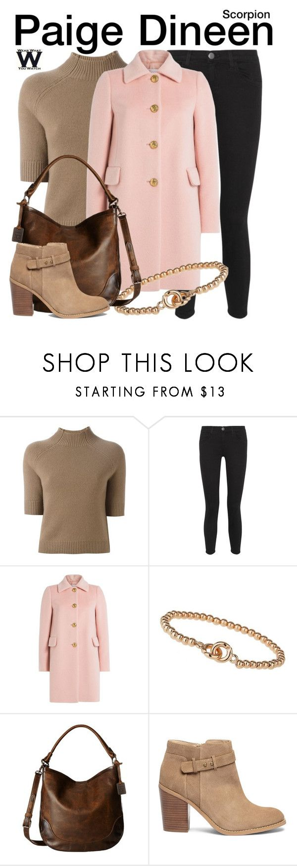 """""""Scorpion"""" by wearwhatyouwatch ❤ liked on Polyvore featuring Theory, Current/Elliott, RED Valentino, Miss Selfridge, Frye, Sole Society, television and wearwhatyouwatch"""