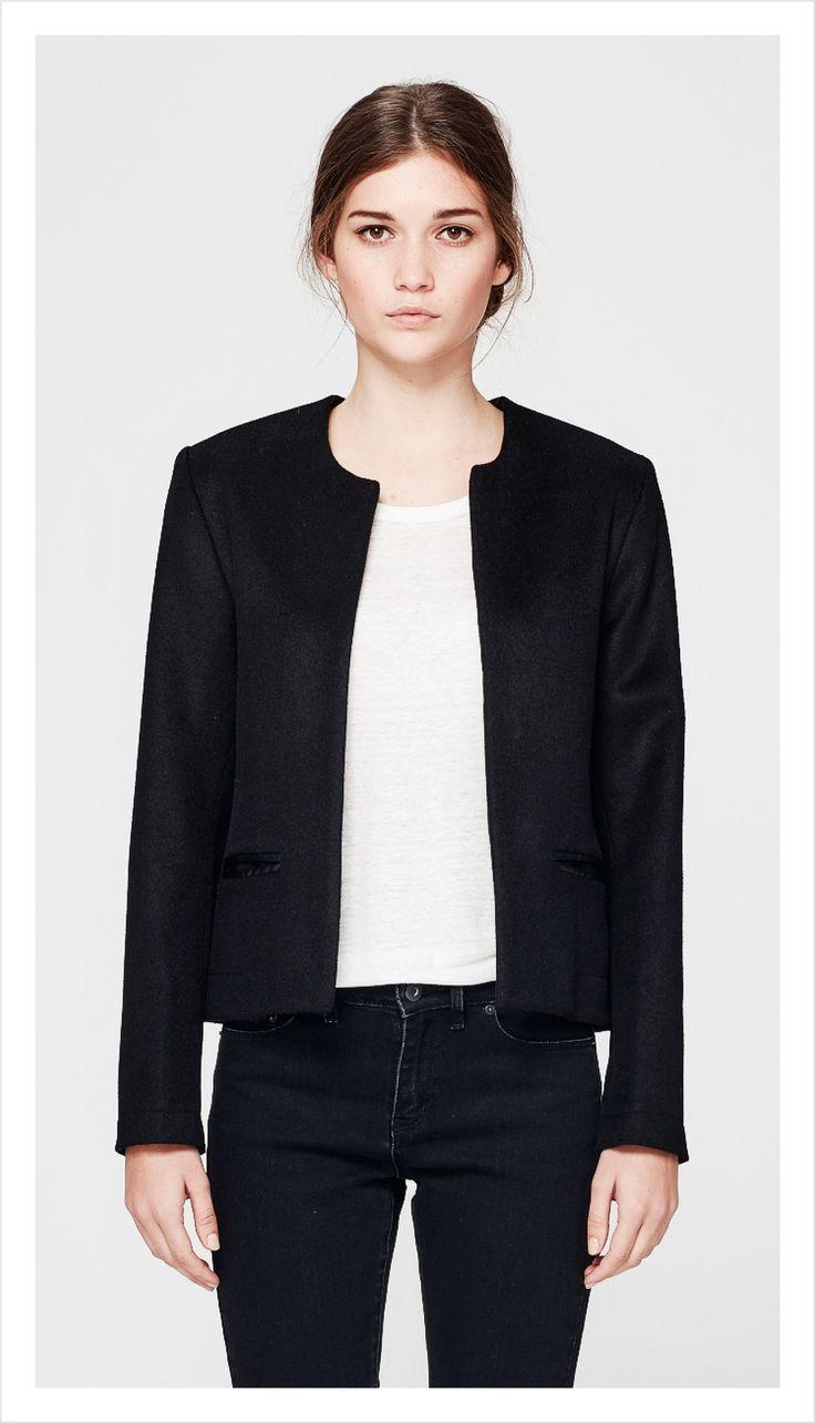line jacket (wool cashmere) – Juliette Hogan