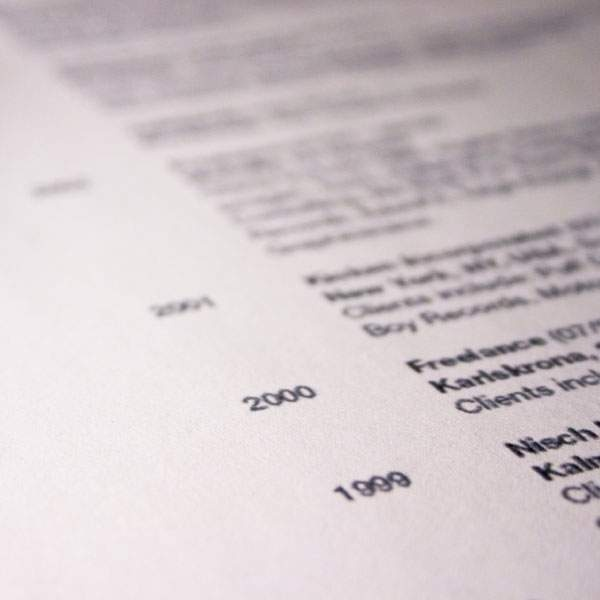 How to write an international resume