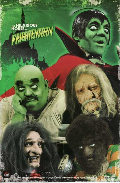 """""""The Hilarious House of Frightenstein"""" ~ Canadian Children's Show created in 1971, starring Billy Van and narrated by Vincent Price"""