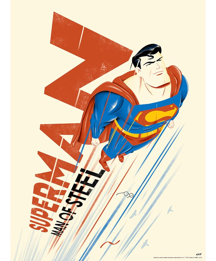 #SupermanTheAnimatedSeries ##Superman by Doaly