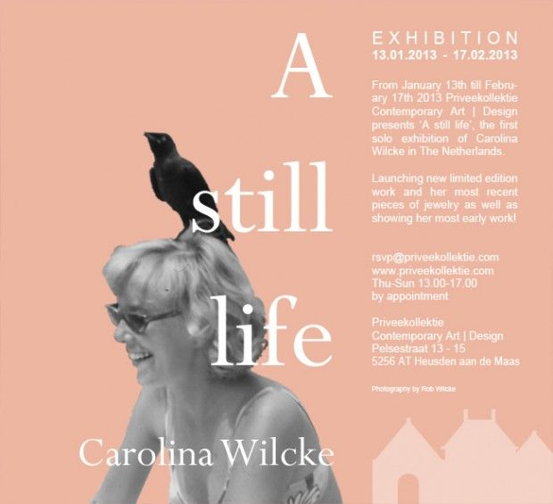 91 best exhibition invitation i poster images on pinterest invitation solo carolina wilcke a still life stopboris Choice Image