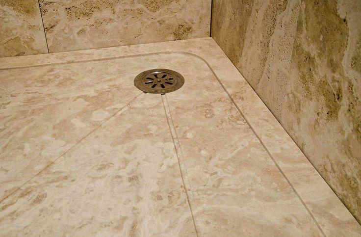Piatto doccia in Pietra di Rapolano modello TK