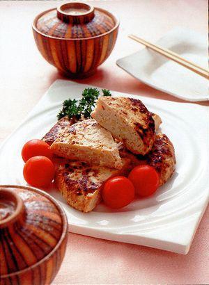 鶏ひき肉とたけのこのみそハンバーグ | 大庭英子さんのレシピ ...
