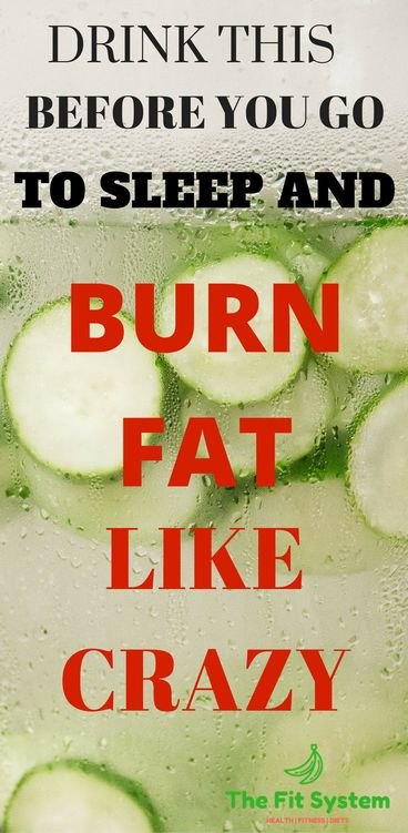 Lose weight instantly with this drink. Drink this before you go to sleep and burn your belly fat fast! How to lose weight safely? By The Fit System