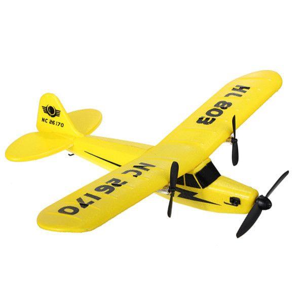 2.4GHz Upgraded PIPER J3 CUB NC26170 RC Airplane RTF