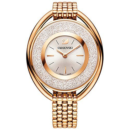 Swarovski Crystalline Oval Rose Gold Tone Bracelet Watch ... https://www.amazon.com/dp/B019ZPN552/ref=cm_sw_r_pi_dp_x_ORGXybSVQ602T