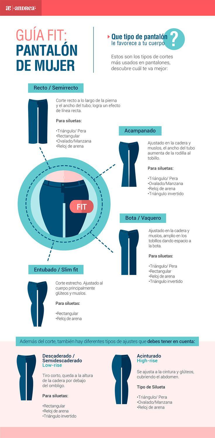 Guía Fit pantalón | Dama – Centro de Ayuda Andrea