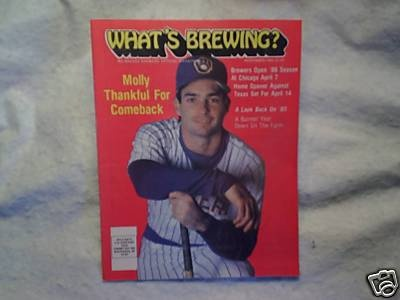 1985 Whats Brewing Paul Molitor Milwaukee Brewers | eBay