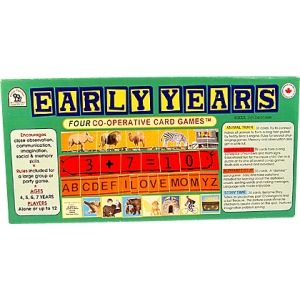 Early Years   - Great value co-operative card game for young children.  Encourages literacy, numeracy, problem solving, memory skills and oral language.