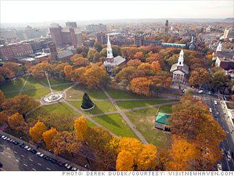 connecticut+scenery | New Haven, Connecticut, 1638