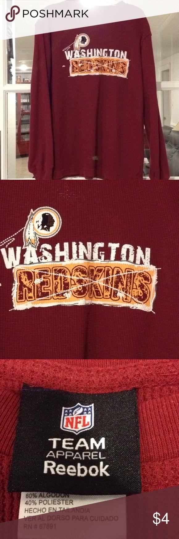 NFL Redskins Large (14-16) top unisex Large (14-16) NFL Redskin unisex top NFL Shirts & Tops Tees - Long Sleeve