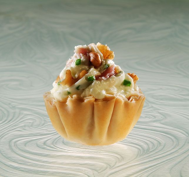 Blue Moon Appetizers   Athens Foods Mini FILO shells info per 2: Calories 30, Total Carbohydrates – 4g