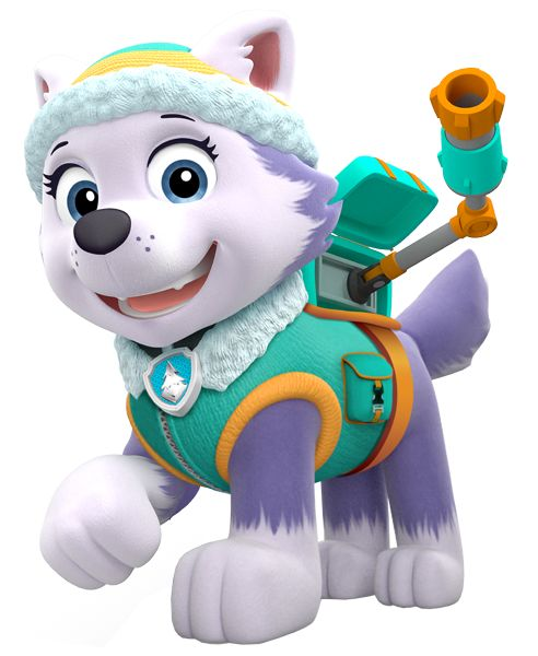 Everest, perrita Husky de La patrulla Canina