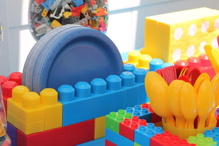 LEGO Birthday Party! - Find it, Make it, Love it DECOR IDEAz