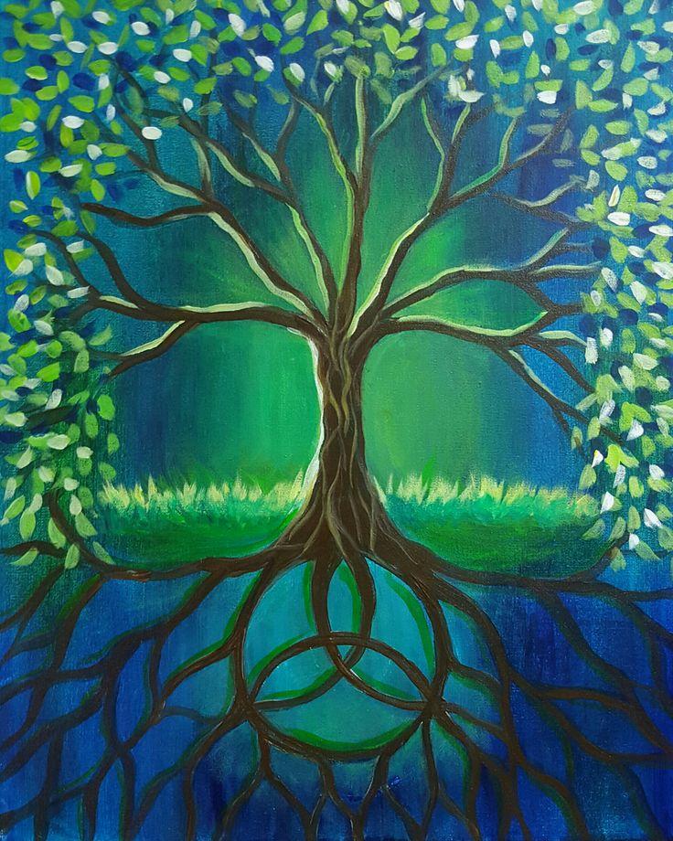 Best 25+ Tree paintings ideas on Pinterest   Original ...