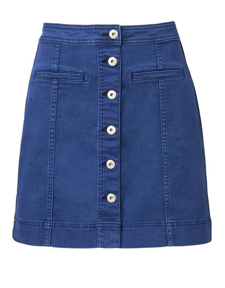 17 Best ideas about Denim Skirts Online on Pinterest | Justice ...