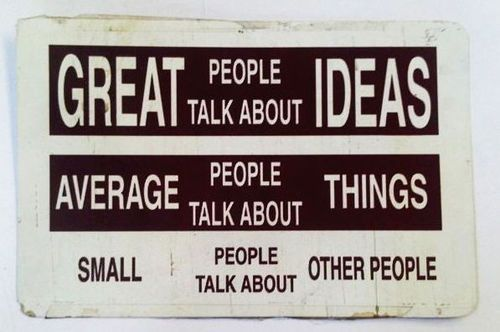 wise words.Thoughts, Ideas, Remember This, Eleanor Roosevelt, So True, Truths, People Talk, Inspiration Quotes, True Stories