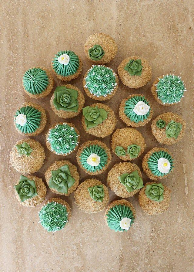 Alana Jones-Mann Cactus Cupcakes                                                                                                                                                     More