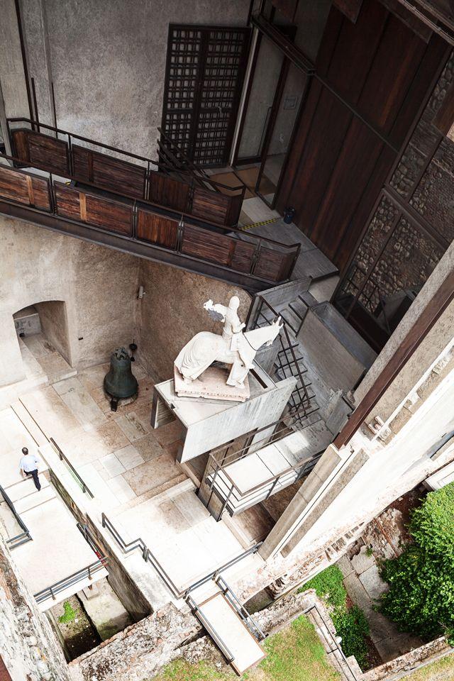 Scarpa, il museo castelvecchio, verona