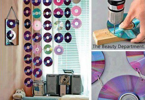 Des CD's pour décorer!