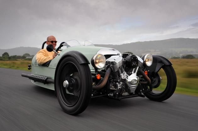 Morgan 3 Wheeler (1): Cars Morgan 1, 3 Wheelers, Morgan 3 Wheels, 2012 Morgan, Autos Vintage, Cars Bike, Morgan Cars, Rad Riding, Awesome Cars