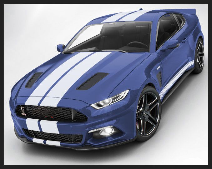 new mustang 2015 with stripes | The Mustang Source