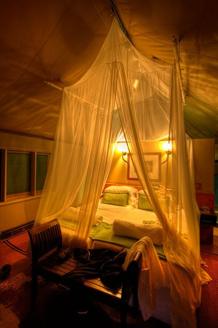 Safari In Style by aaronvonhagen, via Flickr    White Elephant Safari Lodge - South Africa