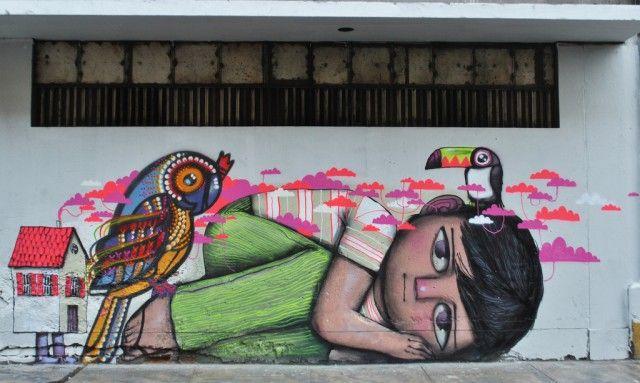 Chilean Street Art by Charquipunk