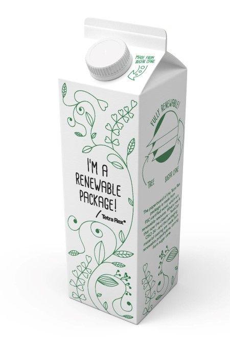 Packaging Europe News - Winner, Bio-Based: Tetra Pak, 100% Plant-Based Carton