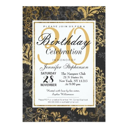 The 414 best images about Elegant Birthday Party Invitations on