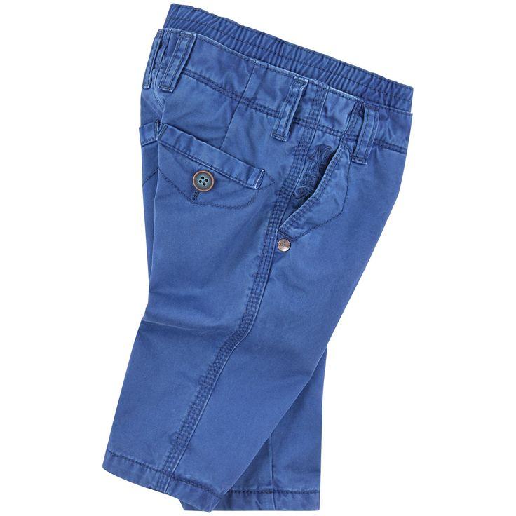 Pantalon 'regular fit' en twill - 135821