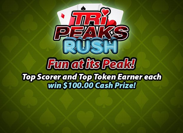 Play Tri-Peaks Rush online for free at PCHgames  Win for life, Pch sweepstakes, Online sweepstakes