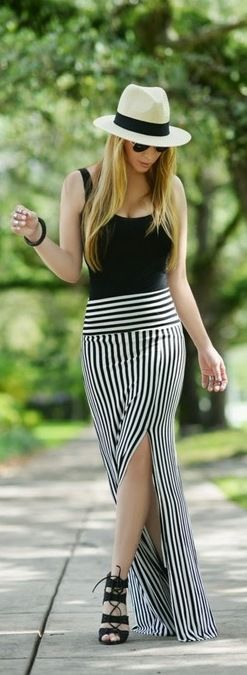 The Maxi Skirt - Chic fashion World